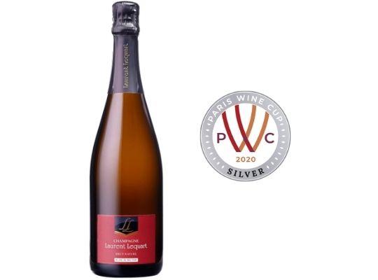 Champagne Laurent Lequart Blanc de Meunier Brut Nature