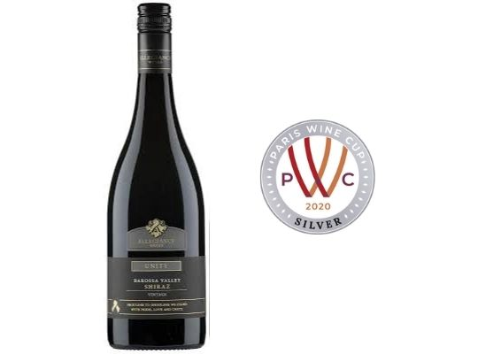 2018 Allegiance Wines Unity Barossa Valley Shiraz
